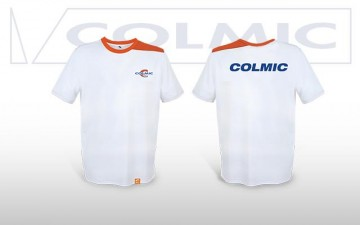 T-SHIRT WHITE-ORANGE